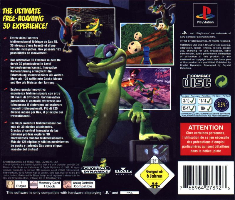Gex: Enter the Gecko