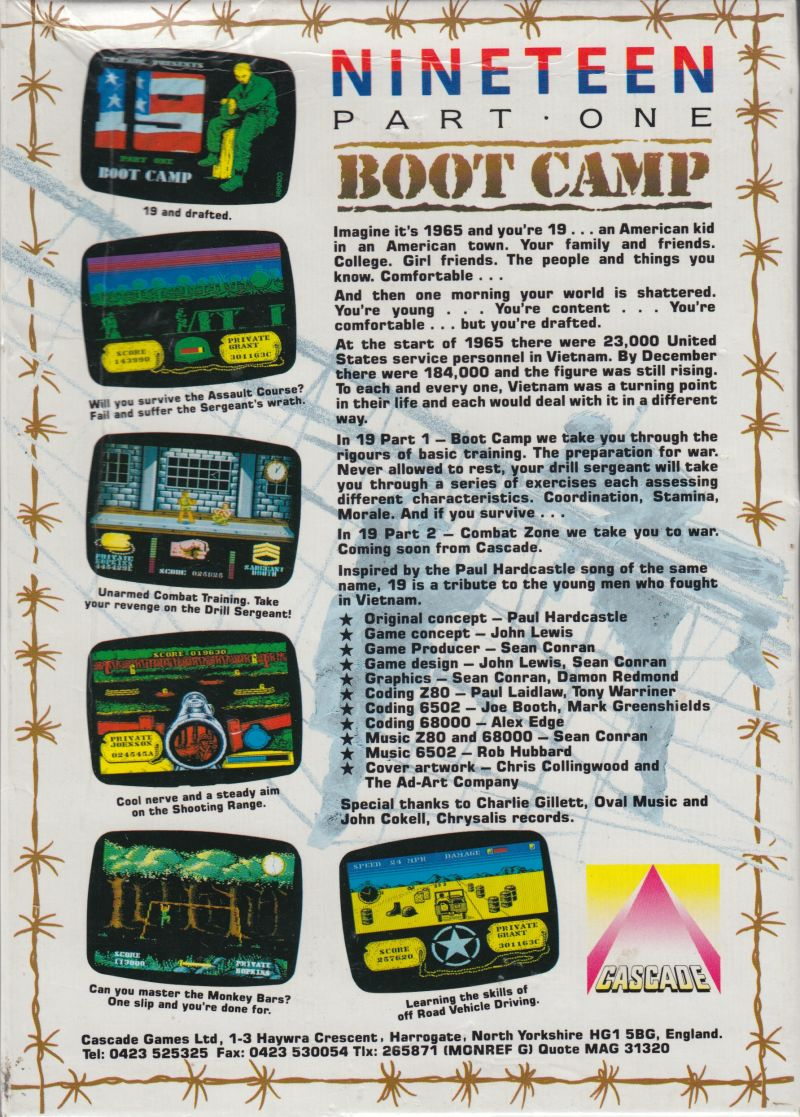 19 Part One: Boot Camp