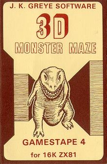 3-D Monster Chase