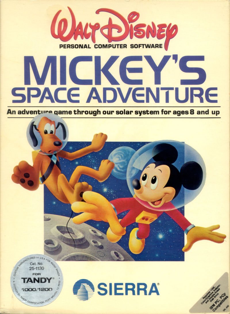 Mickey's Space Adventure